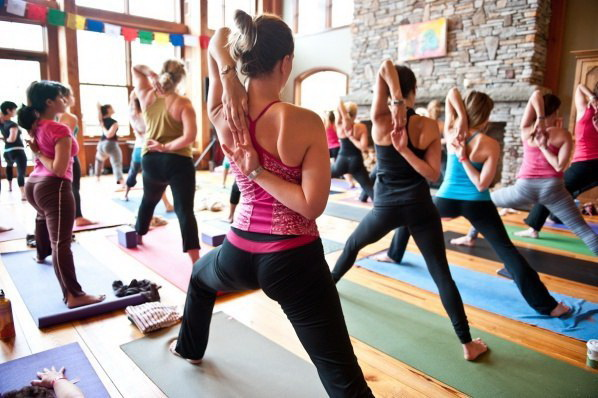 йога в студии