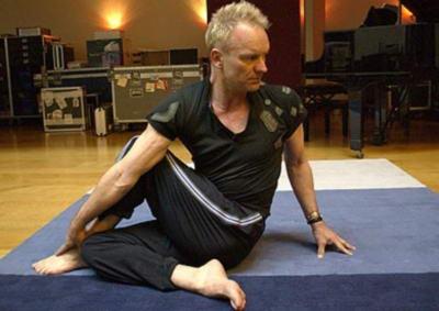 Стинг йога