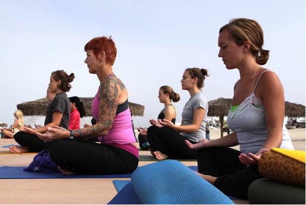 йога и стресс